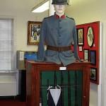 Blue Army uniform