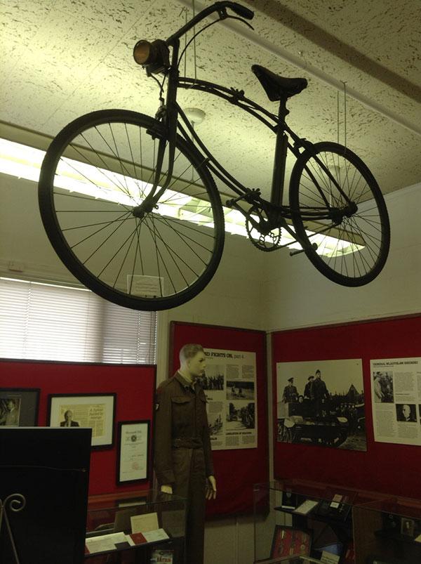 Airborne folding bicycle