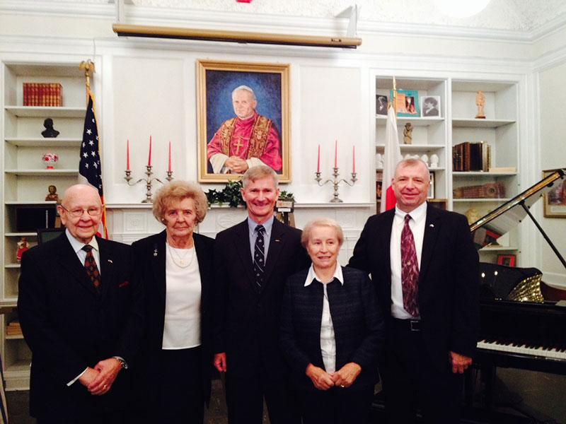 Visit of Dr Magda Kapucinska