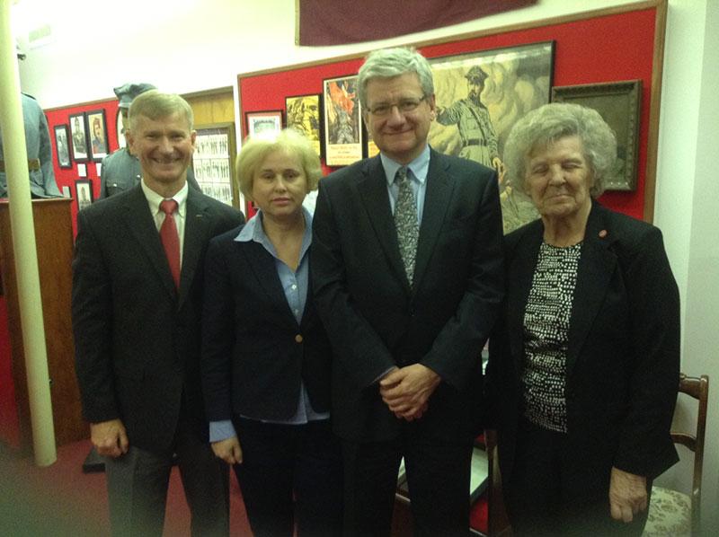 Visit of Polish Ambassador to the UN